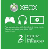 Xbox Live Codigo 48 Horas Envio Inmediato!