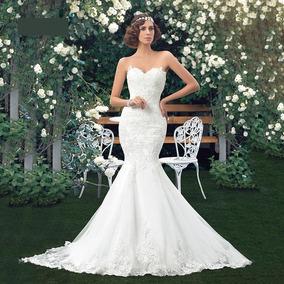 Vestido De Noiva Longo Sereia Tomara Que Caia
