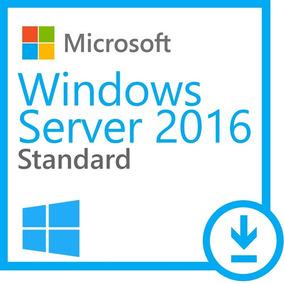 Windows Server 2016 Standard + 50 Cal Rds User + Nf-e