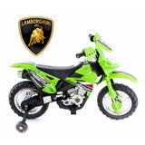 Moto A Bateria Tipo Cross Infantil 6v Triciclo Competicion