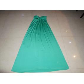 Vestido Casual Verde Usado Topia Talla Unica