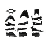 Kit Plasticos Carenado Honda Wave 14pcs Gris Oscuro