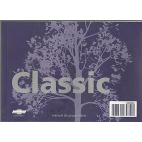 Manual Proprietário Classic 2011 Origi Kit Completo C/bolsin