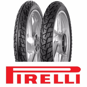 Pneu Moto Formula Pirelli Par 2.75-18 E 90/90-18 Cg/titan