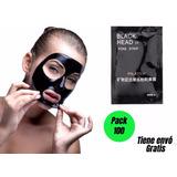 Pack 100 Mascarilla Black Head Puntos Negros / Promoferta
