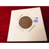 Bb#481 Indian Head One Cent Usa 1887