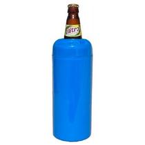 6 Porta Cerveja Camisa Litrão Plastico Termico Colorido