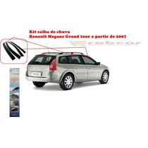 Kit Defletor Calha Chuva Megane Grand Tour De 2007 A 2012