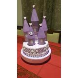 Torta Princesa Sofia. Con Volcan De Regalo