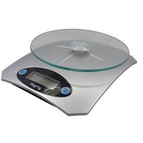 Balança Digital De Cozinha Até 5kg 1g 1ml Precisão Com Vidro