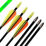 Jóvenes Práctica Flechas De Tiro Con Arco Compuesto Arco