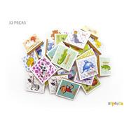 Jogo Da Memória Inglês 32 Peças - Sopecca M304