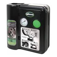 Compresor Aire Portatil + Slime Repara Pinchaduras Auto Moto