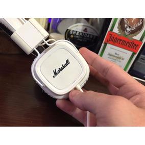 Headphone Fone Marshall Major Branco, Com Microfone Embutido