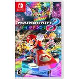 Mario Kart 8 Delux Nintendo Switch Nuevo Domicilio