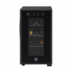 Cava De Vinos 8 Botellas Ge Panel Digital Negro Gw8xdbb