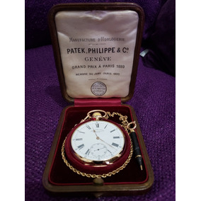 544d076bb69 Relogio Patek Fillippe De Bolso Gondolo 22 Linhas - Relógios De ...
