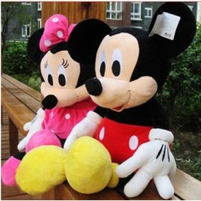 Pelucia Grande Mickey Minnie Disney 1 Metro 100cm Gigante