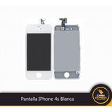 Pantalla Iphone 4s Blanca Y Negra Nueva Tienda