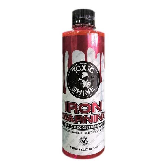 Toxic Shine Iron Warning 2019 - Descontaminante Ferrico