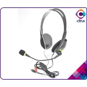 Audifonos Con Microfono Pc Au-300 Gio Skype Call Center