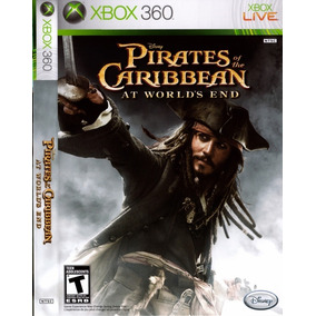 Cd Piratas Do Caribe O Fim Do Mundo Xbox 360 Original