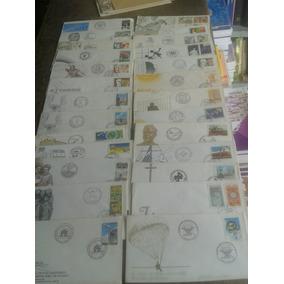 25 Envelopes Selados 1º Dia