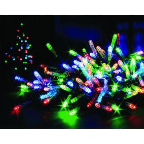 tira de luces led multicolor mts deco arbol de navidad