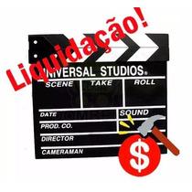 Claquete Filme Produção Vídeo Cinema Decoração Estúdio