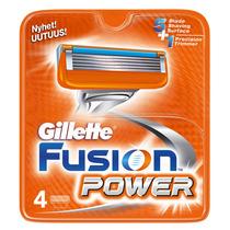 Gillette Fusion Power - Lâminas De Barbear 4 Unidades