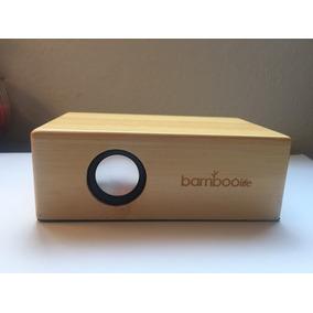 Bocinas De Bambu De Inducción, No Requiere Conexión / Config