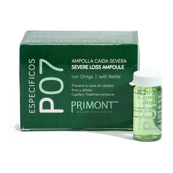 Tratamiento Anti Caída Del Cabello P07 Primont X 12