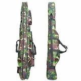 Funda Doble Rifle Escopeta Carabina!! O Cañas Pescar 130cm