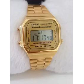 59501cf984a Relogio Casio Dourado Original Barato - Relógios no Mercado Livre Brasil