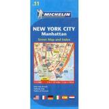 Michelin Map 11 New York City: Manhattan Michelin Travel &