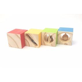 Juguetes De Madera Sonidos Instrumentos Montessori Waldorf