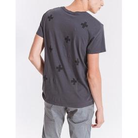 Remera Bowen Harbor T-shirt Con Estampado De Cruces