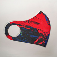 Máscara Neoprene Hid Saib Vermelho Neon
