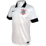 Camisa Nike M/c Corinthians Boys Ss Home Repl Jsy 544777-110