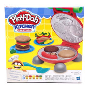 Massinha De Modelar Kit Festa Do Hamburguer Play Doh Hasbro