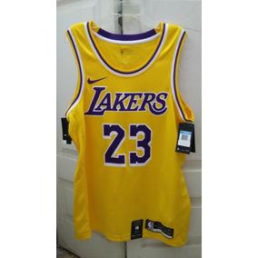 99e7c2ce2ba Jersey Nike Nba Lebron James Swingman Lakers Talla My L (48)