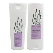 Kit Vegano Shampoo E Condicionador Lavanda E Verbena Herbia