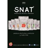 6x Snacks Liofilizado Snat 10g De Frutas Y Verduras Sin Tacc