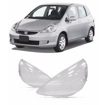Par Lente De Farol Honda Fit 2003 2004 2005 2006 2007 2008