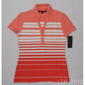 Camisa Gola Polo Feminina Tommy Hilfiger - Tam P (#2)
