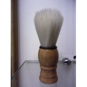 Pincel De Barbear Cabo Madeira,barba,pincel Para Barbear