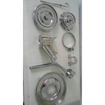 Top!!! Kit De Acessorios Cromados Motor Vw Fusca Bras Buggy