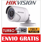 Camara Bala Hikvision Turbo Hd Hdtvi 3.6mm Ds-2ce16c0t-ir