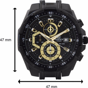Relógio Casio Masculino Edifice Ef-539 Black Gold