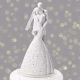 Topo De Bolo Gina Freehill - Noivinhos Casamento - Cherish